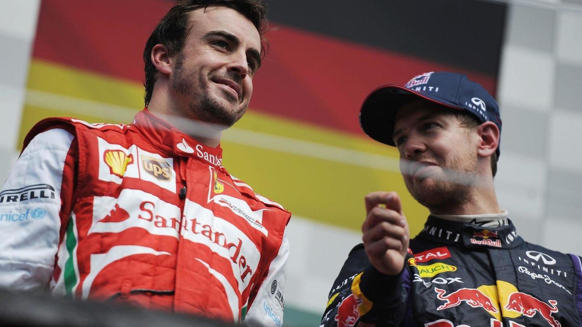 Vettel 'not afraid' of Alonso head-to-head