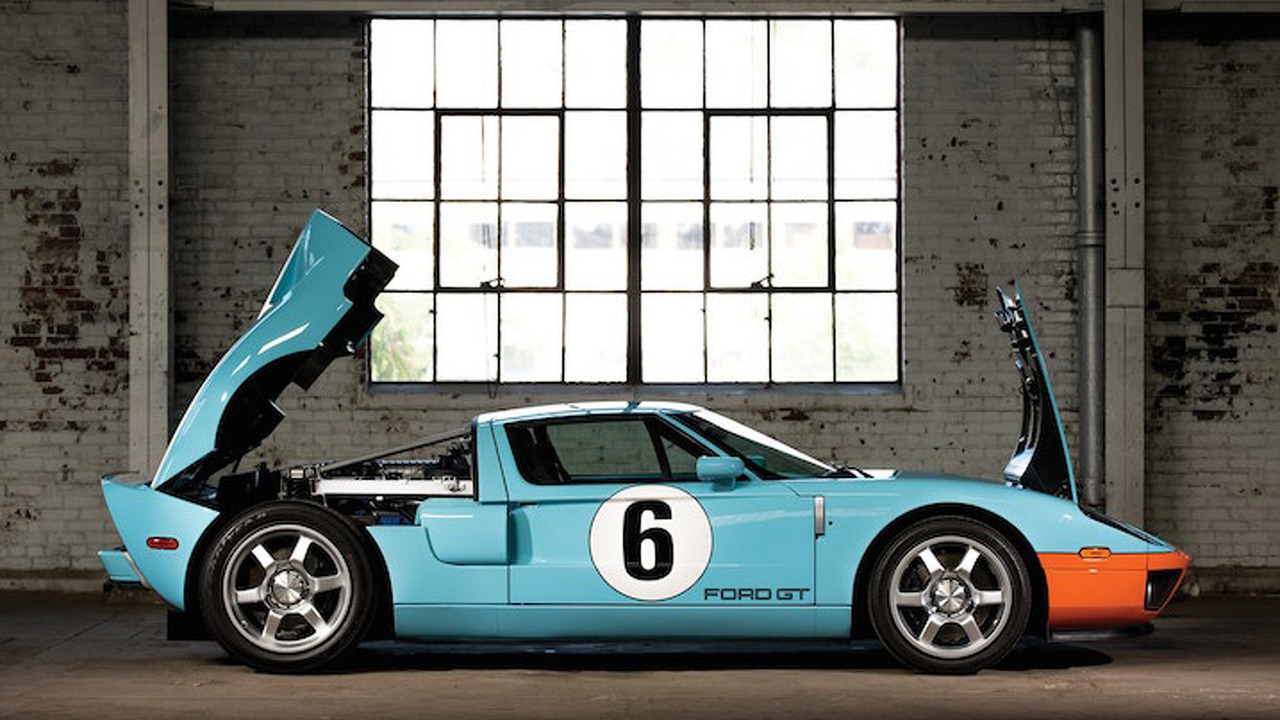 2006 Ford GT 'Heritage Edition' Heralds Back to the Glory Days