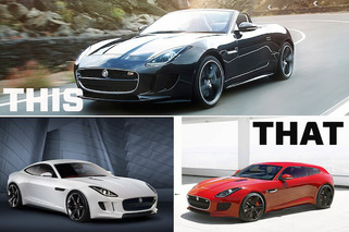 This or That: Jaguar F-Type Convertible, Coupe or Sportbrake?