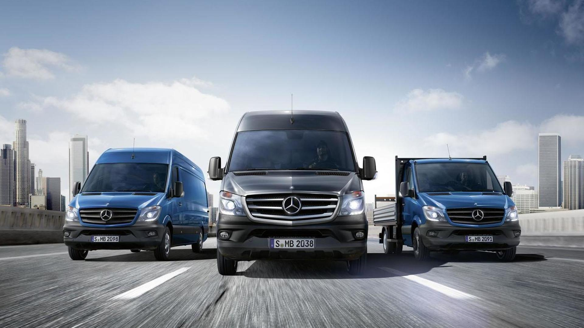 2014 Mercedes Sprinter unveiled