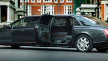 Maybach 72 custom stretch limo