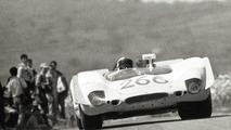 Porsche 908 02 Spyder in action at the 1969 Targa Florio, 24.06.2010