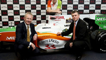 Paul Di Resta, Announced as Force India F1 Team Reserve Driver, Glasgow, Scotland, 02.02.2010