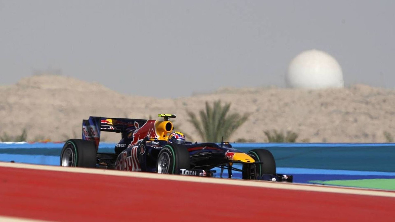 Mark Webber (AUS), Red Bull Racing, Bahrain Grand Prix, Saturday Qualifying, 13.03.2010 Sakhir, Bahrain