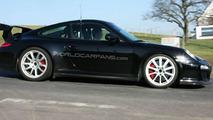 Porsche 911 GT3 RS facelift spy photo