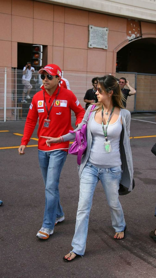 Massa to be father next week