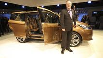 Ford B-Max live in Geneva - 01.03.2011