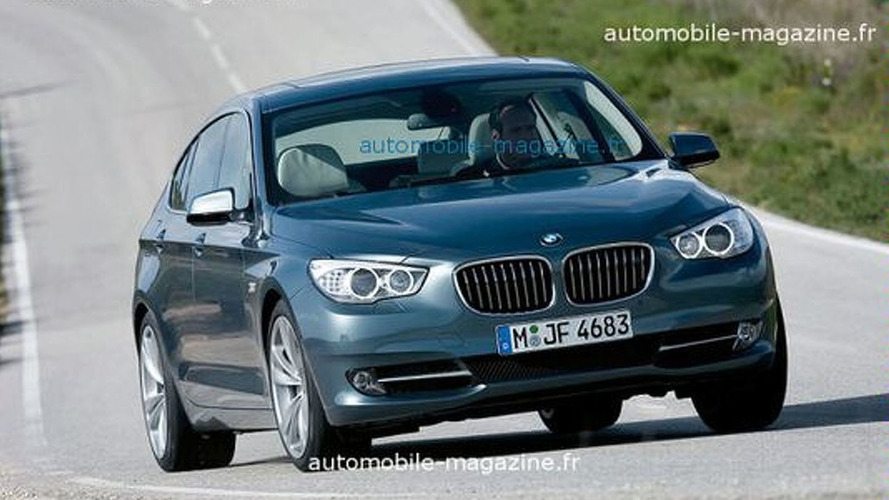 LEAKED: BMW 5-Series Gran Turismo