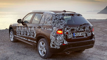 BMW X1 Initial Details Emerge - Official Prototype Images Released