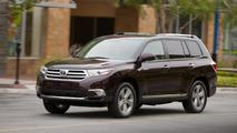 2014 Toyota Highlander announced for New York debut