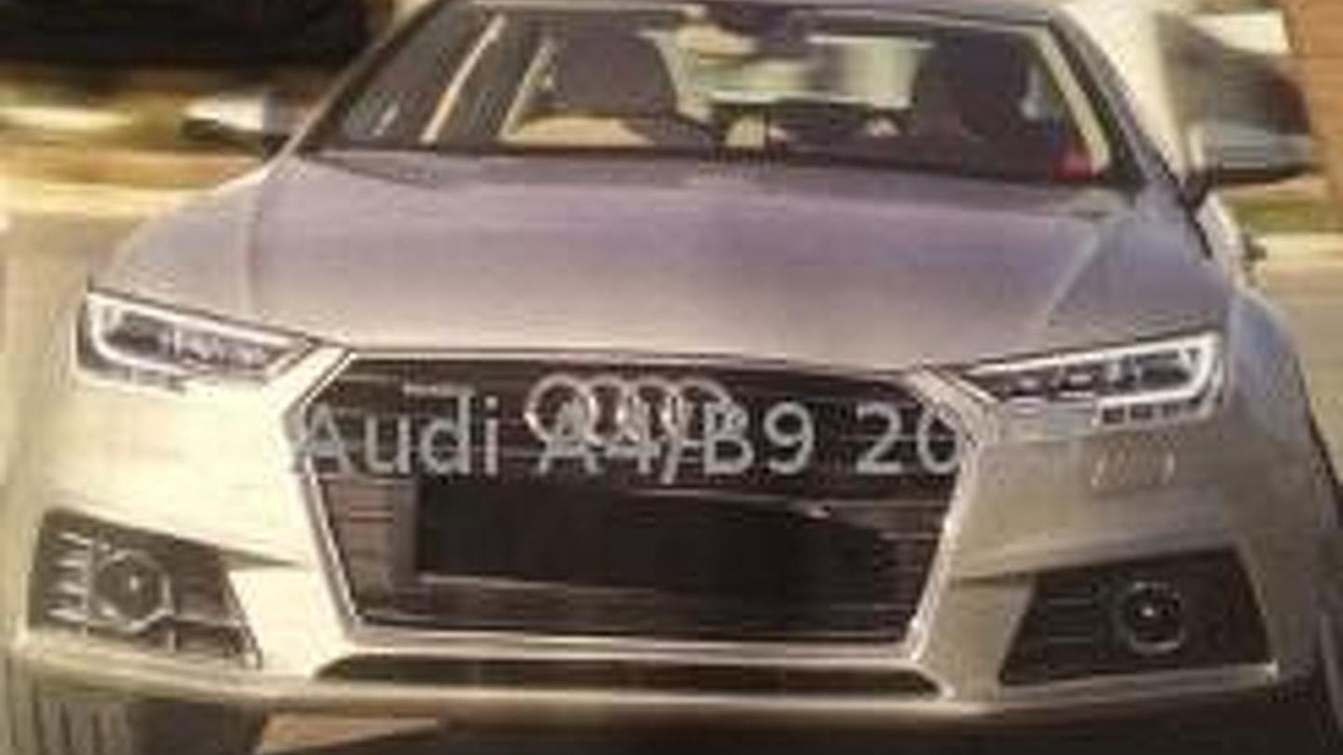 This probably isn't the new Audi A4; engine lineup fully leaked