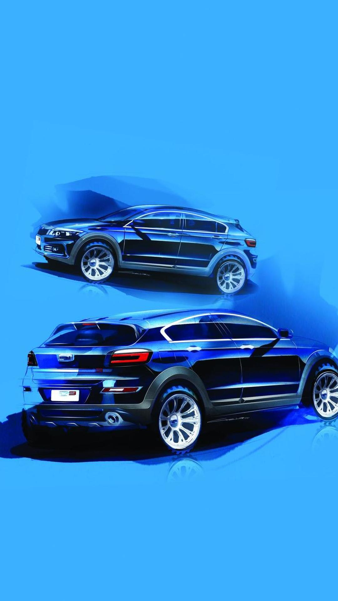 Qoros teases 3 City SUV ahead of Guangzhou Auto Show premiere