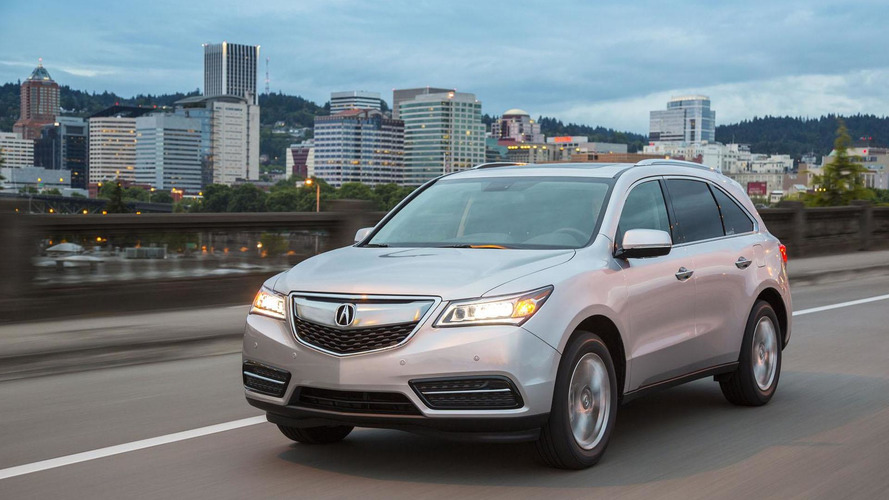 2016 Acura MDX unveiled with new transmission & upgraded SH-AWD system