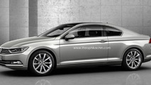 2015 Volkswagen Passat Coupe and Shooting Brake envisioned