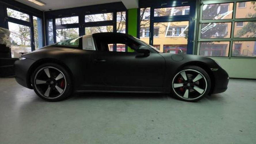 Porsche 991 Targa gets matte wrap from Print Tech