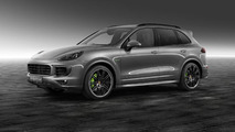 Porsche Exclusive shows off their Cayenne S E-Hybrid