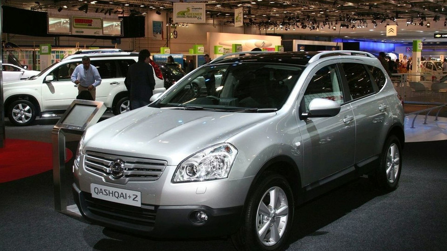 Nissan Reveals Qashqai+2 in the BIMS