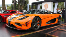 Koenigsegg Agera XS makes public debut in Monterey