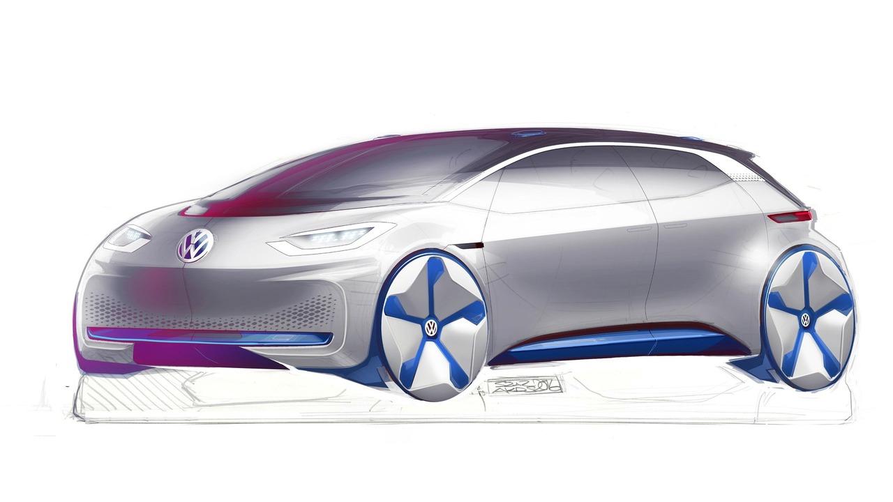 VW EV concept teaser