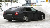 2014 Maserati Quattroporte full-body prototype first time spied