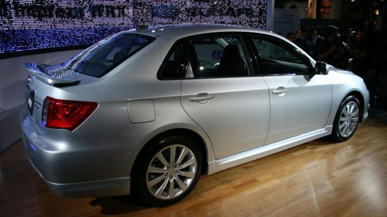 2008 Subaru Impreza WRX Sedan