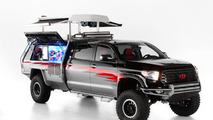 Toyota Crusher Corolla,  CamRally & Let's Go Moto Tundra revealed for SEMA