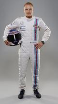 Valtteri Bottas Williams Martini Racing Launch