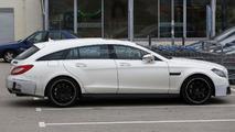 2015 Mercedes CLS 63 AMG Shooting Brake spy photo 12.12.2013
