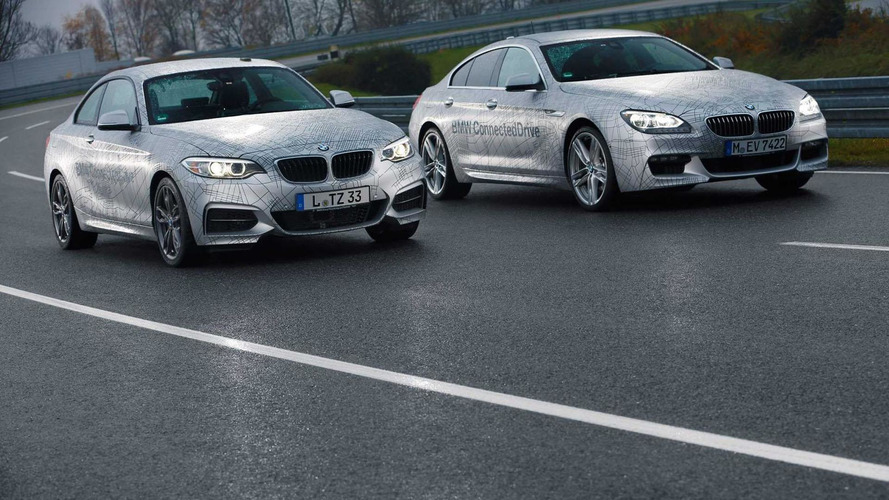 BMW showcases highly automated driving prototypes for CES