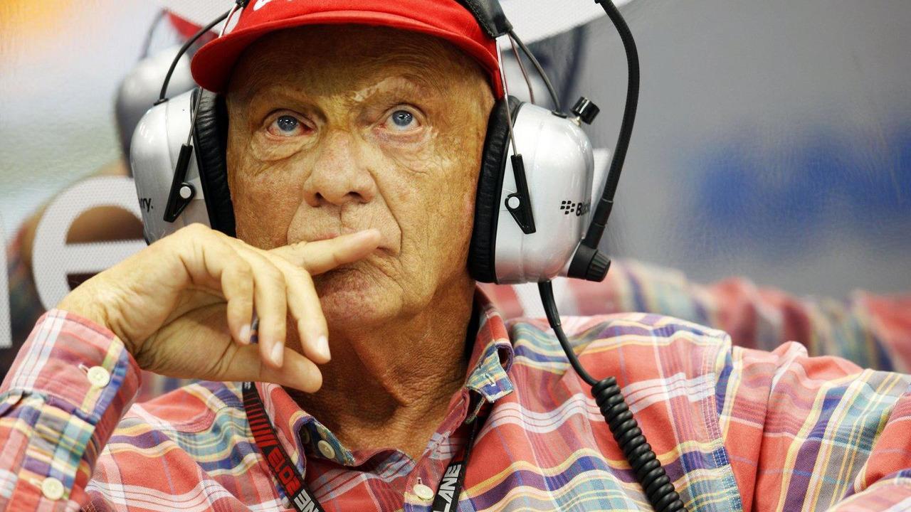 Niki Lauda 20.09.2013 Singapore Grand Prix