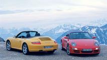 Porsche 911 Carrera 4 and 4S Cabriolet Unveiled