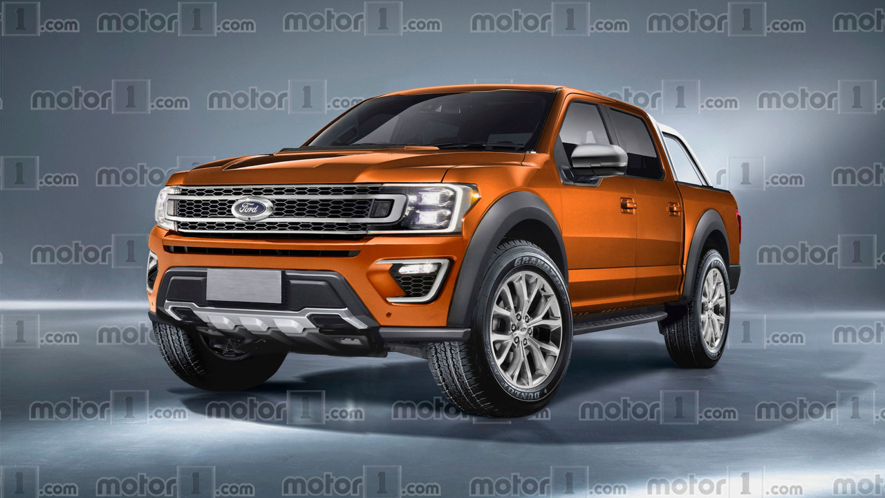 2019 Ford Ranger Imagined As F 150 S Little Brother