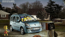 Packing the Simpsons Into a Renault Kangoo