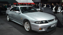 Classic Nissan GT-Rs live in New York