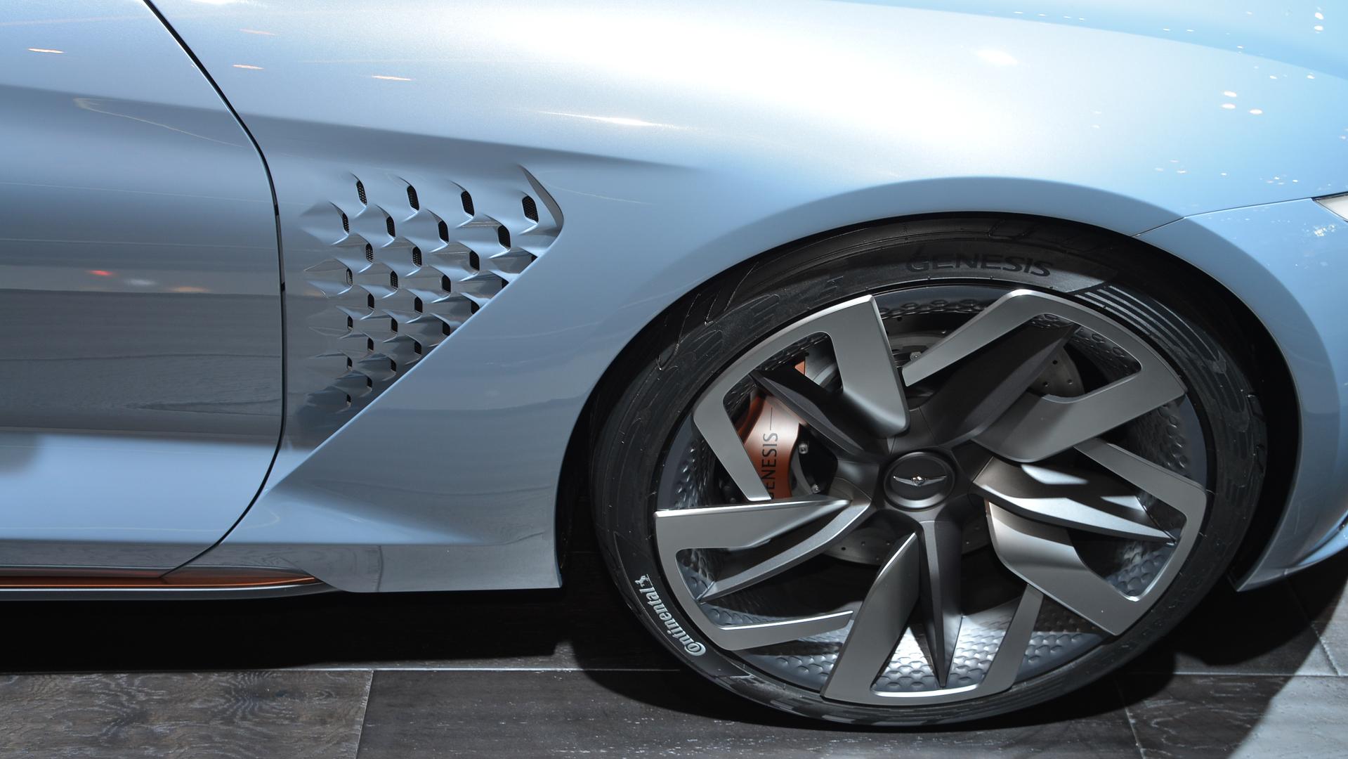 Genesis luxury EV planned by Hyundai