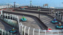Norwegian Joy cruise ship features its own race track