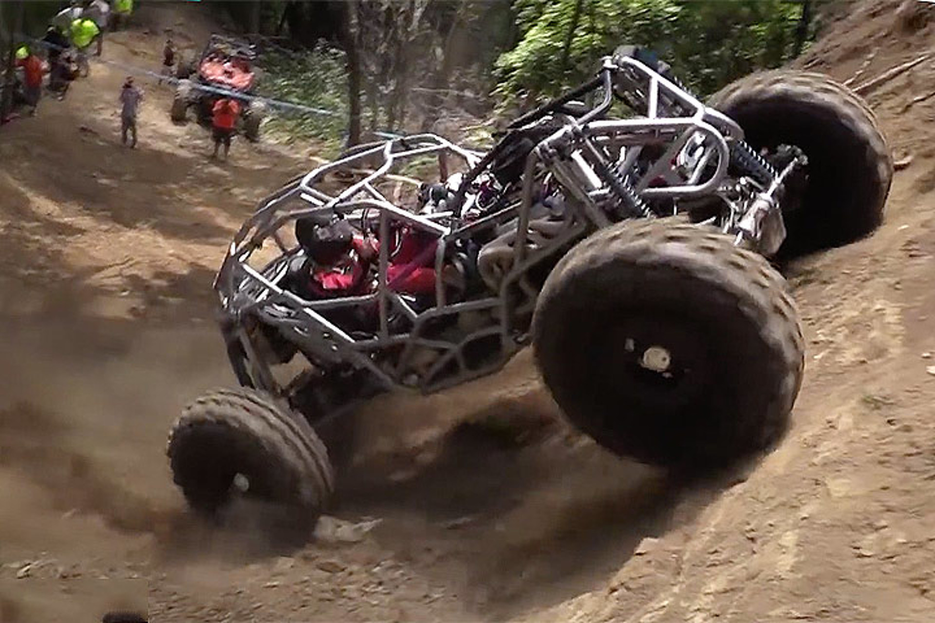 Watch This Off-Road Buggy Do a Massive Backflip