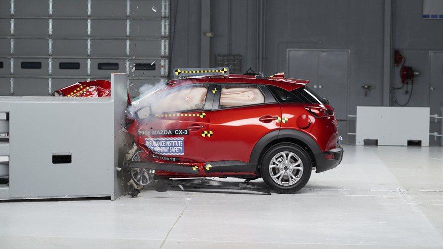 2016 Mazda CX-3 proves its safety with a TSP+ award