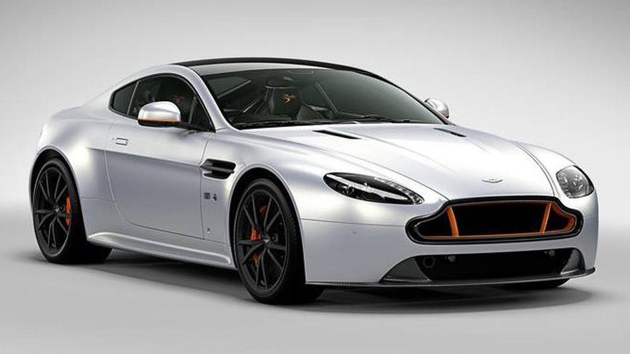 Aston Martin V8 Vantage S Blades Edition introduced [video]
