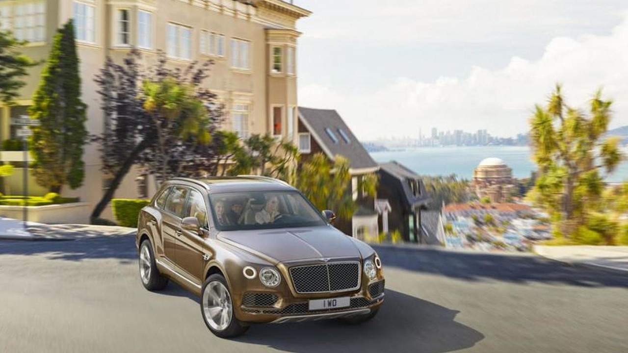 Bentley Bentayga leaked photo