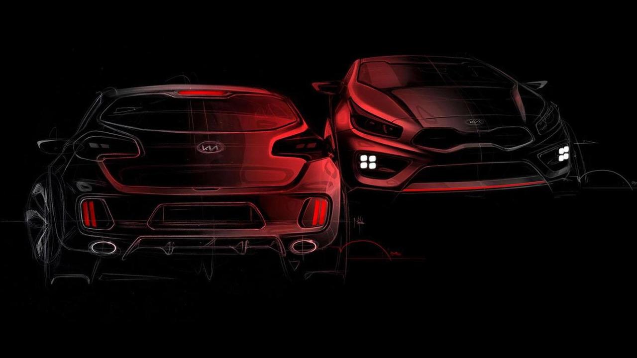 2013 Kia cee'd GT and pro_cee'd GT teaser 03.12.2012