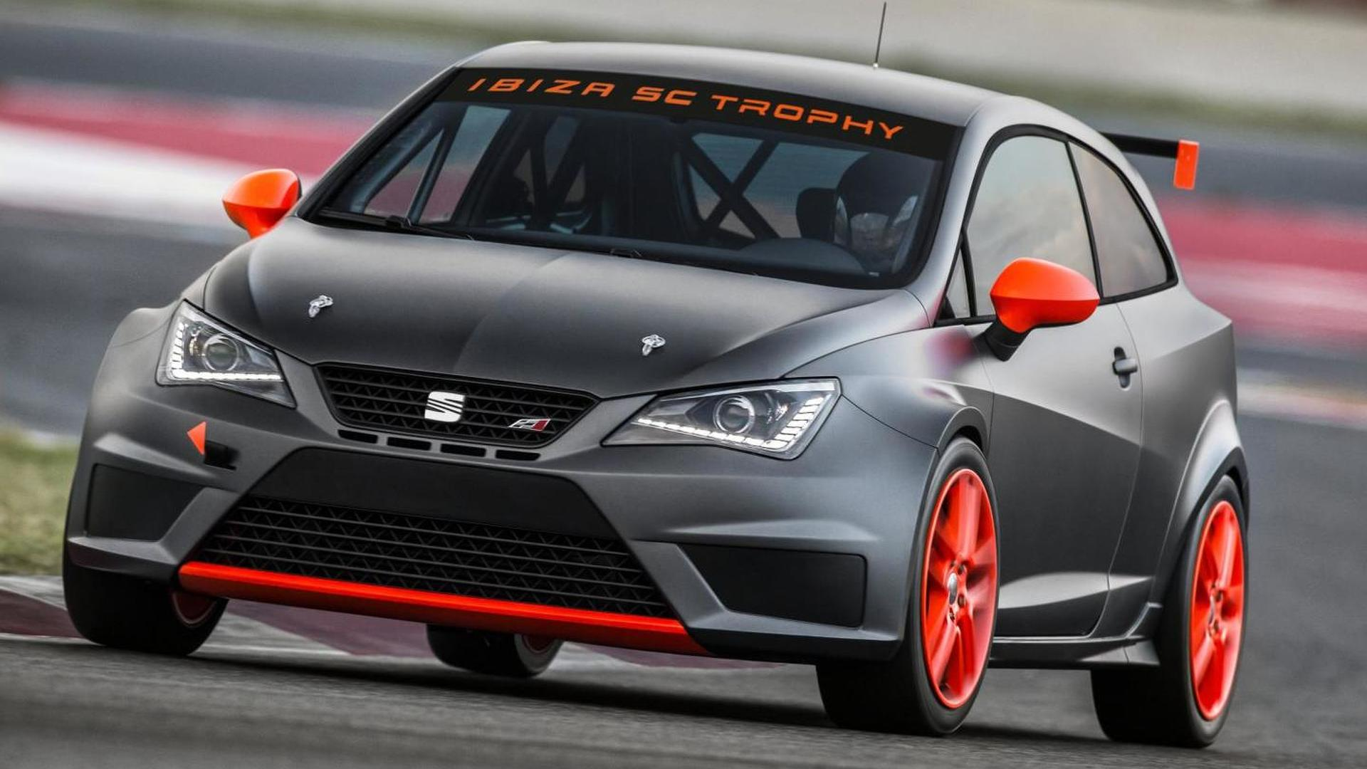 Seat Ibiza SC Trophy upgraded to 200 HP