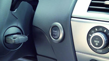 BMW 650i start button
