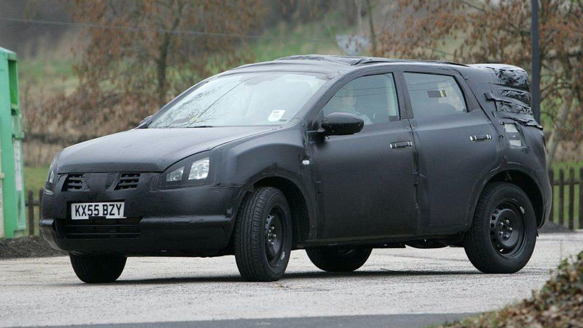 New Nissan Qashqai Spy Photos Captured