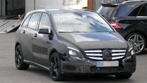 2012 Mercedes B-Class AMG spy photo - 31.10.2011