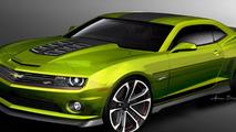 Camaro Hot Wheels Concept debuts at SEMA [video]