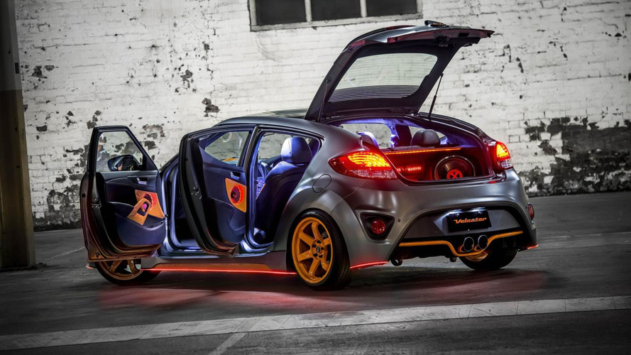 Hyundai Veloster Street Concept revealed at AIMS