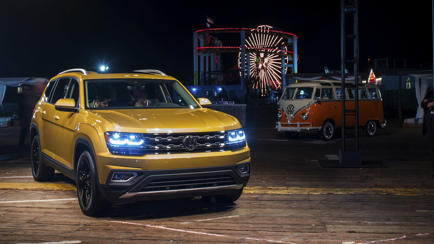 2018 Volkswagen Atlas: Official photos and info