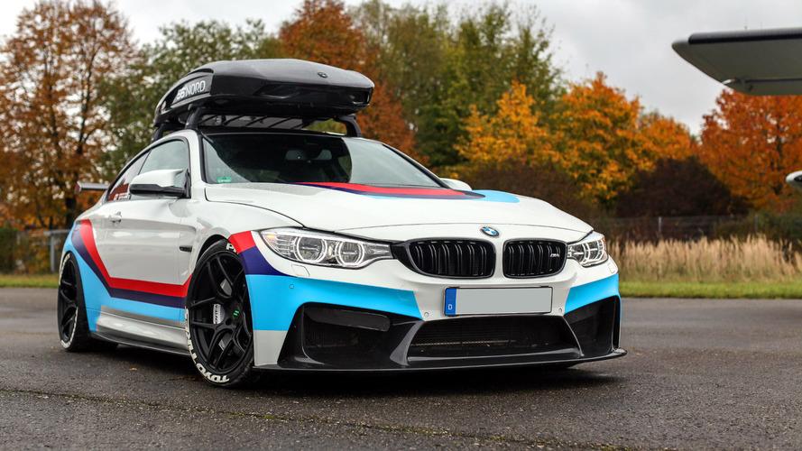 La BMW M4R de CarbonFiber Dynamics - 700 chevaux et… un coffre de toit