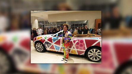 Rolls-Royce Dawn art car is a study in 'neopop'